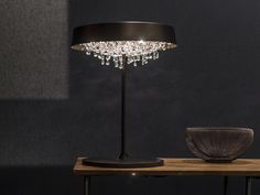 TONDO T Table lamp by Manooi #crystalchandelier #lightingdesign #interior #chandelier #coollamps #luxury #Manooi