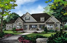 This goes to my overall favorite floor plan!! Love the Craftsman characteristics!!!
