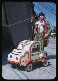 Ringling Circus Clown Lou Jacobs Chicago c.1949