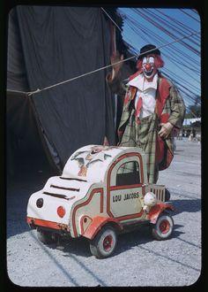 Ringling Circus Clown Lou Jacobs Chicago c.1949