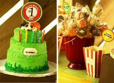 Sports cake & cakepops