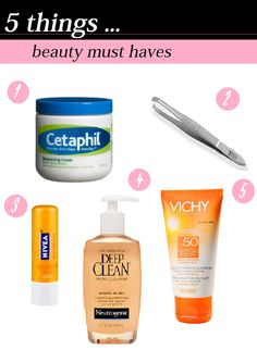 """Read today's post on makeup for lunch """"5 things-beauty must haves"""" it's like a starter kit for beauty beginners to enhance your skin care routine :)) >> http://makeupforlunch.blogspot.com/2014/09/5-things-beauty-must-haves.html"""