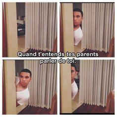 Quand tes parents parlent de toi :3