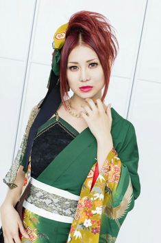 Japanese Girl Band, Japanese Girl Group, My Moon And Stars, My Muse, Girl Bands, Kawaii, Asian Beauty, Kimono, Model