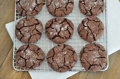 These soft chocolate sugar cookies are rich and really unbelievable. They are the perfect marriage of sugar cookie and chocolate! Cookie Brownie Bars, Cookie Desserts, Just Desserts, Cookie Recipes, Dessert Recipes, Baking Cookies, Chocolate Sugar Cookie Recipe, Chocolate Cookies, Chocolate Recipes