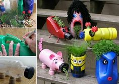 DIY Upcycled Planters Pictures, Photos, and Images for Facebook, Tumblr, Pinterest, and Twitter