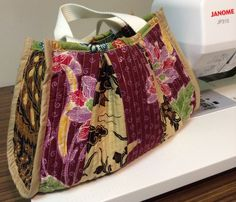 Leftover fabric, batik, handbag