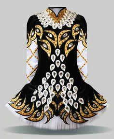 Elevation Design Irish Dance Solo Dress Costume