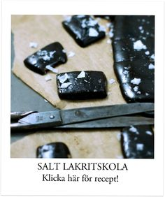 saltlakrits godis recept