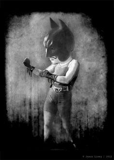 Batman vs Bane oldschool fight – por Jason Liwag