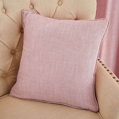 Vermont Pink Cushion | Dunelm