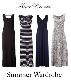 Maxi Dresses ~ Summer Wardrobe by chicgoddess88 on Polyvore