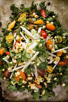 Kale Taco Salad [not sure if this has meat or not but I wouldn't include it.. lol]