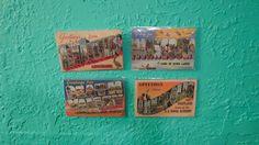 "Vintage Lot of Four American Tourist ""Art Colortone"" Postcards from New Orleans, Death Valley, Minnesota & Maryland, Retro Travel Ephemera on Etsy, $9.00"
