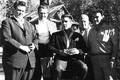 Lamar Fike, Ray Sitton, E, Marty Lacker, Alan Fortas