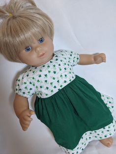 Blue Daisy Print  PantiesFits 18 inch American Girl Dolls