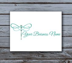 Pre made Dragonfly Logo Script Font by VisionaryDesignPhoto, $15.00