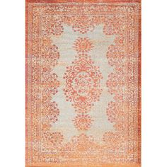 Havana Orange Area Rug