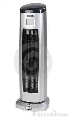 Photo about Electric heater on white background shot in studio. Image of isolated, portable, standing - 18303442 Tower Fan, Electric, Home Appliances, Stock Photos, Photography, Image, House Appliances, Photograph, Fotografie