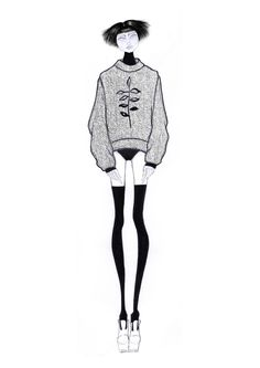 Fashion illustration // Leandro Benites.                              …