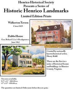 henrico county virginia history | Henrico County (Virginia) Historical Society - News 2010 - Second ...