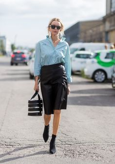 The Wild New Ways Women Are Wearing Skirts This Fall