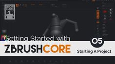 Getting Started with ZBrushCore - Starting A Project