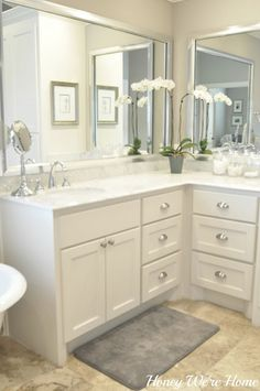 Honey We're Home: Our Master Bathroom