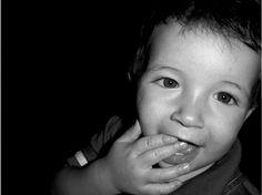 baby black and white