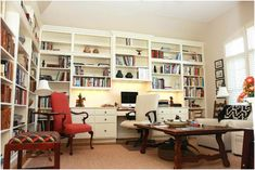 Understand Home Office Shelf Ideas