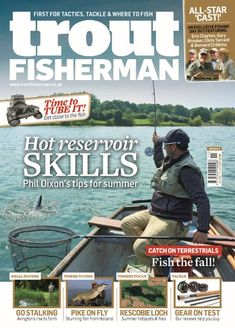 Issue 511 on sale June 2018 Summer Catch, Sea Angling, Fishing Magazines, Types Of Fish, Star Cast, Carp Fishing, Trout, All Star, Latest Issue