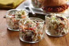 A simple swap of AE Dip for mayo gives coleslaw some added zip. We love it on pulled pork sandwiches, hot dogs and bratwurst!
