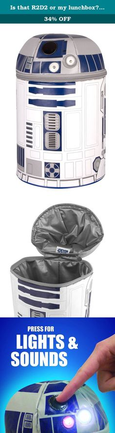 Is that R2D2 or my lunchbox? Thermos Novelty Lunch Kit, Star Wars R2D2 with Lights and Sound Thermos. For over 100 years, thermos has created unique products fueled by hotter, cooler and fresher thinking. This commitment continues with an expanding range of innovative, fashionable lunch kits that get your child's healthy lunch to school and back in style. Pack their lunch in thermos each day instead of using disposables: you'll reduce waste and save your family money. Now that's fresh...