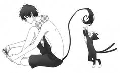 Rin okumura( am I the only one who realized he clipping his toes like wut?)