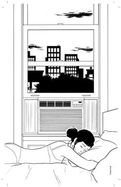 """""""A.C."""" - adrian tomine"""
