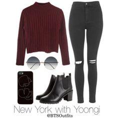 New York with Yoongi