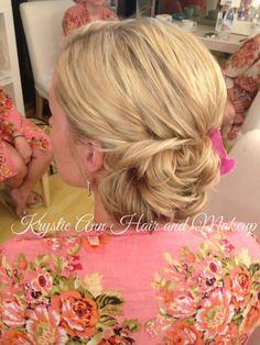 Hair: www.krystieann.com  Wedding hair, bridal hair, wedding updo, bridal updo, blonde updo, bridesmaid hair, bridesmaid updo, beach wedding hair, punta cana wedding, jellyfish wedding, jellyfish punta cana