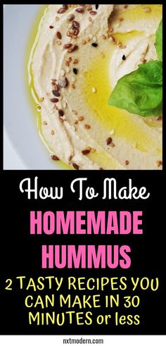 How To Make Hummus Better Than Any Store-Bough Brand how to make homemade hummus Store bought Hummus typically sucks and is way overpriced. Here we show you how to make Hunmmus using our simple, authentially Lebanese family recipe. Make Hummus, Homemade Hummus, How To Make Humus, Homemade Food, Healthy Afternoon Snacks, Healthy Snacks, Healthy Eating, Vegetarian Recipes, Cooking Recipes