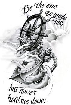 helm compass tattoo - Google Search: