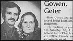 Mr. & Mrs. Gowen-Getter. | 15 Wedding Announcements From Couples With Deeply Unfortunate Names