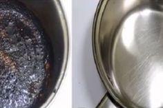 Vous avez oublié une casserole sur le feu ? Voici une astuce pour venir à bout des fonds carbonisés !