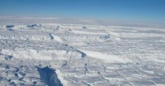 A huge iceberg broke off of the Pine Island Glacier, part of the ice shelf that bounds the West Antarctic Ice Sheet. Evidence suggests that the glacier is breaking apart from the inside and, even worse, a second inland rift is forming. Nasa, Civil Engineering Projects, Ice Sheet, Pine Island, Sea Level Rise, Environmental Issues, Inevitable, Global Warming, Climate Change
