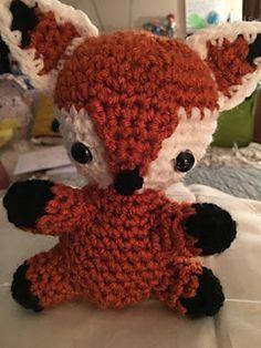 Ravelry: Foxy Fox pattern by Rilla Edwards Crochet Fox, Free Crochet, Crochet Things, Yarn Crafts, Felt Crafts, Diy Crafts, Diy Gifts To Make, Simply Crochet, Fox Toys