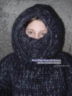 Thick Sweaters, Wool Sweaters, Balaclava, Catsuit, Sweater Outfits, Knits, Women's Fashion, Warm, Knitting