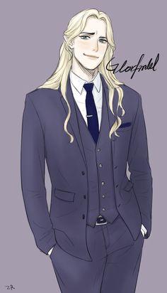 Glorfindel, AU >>> kkkhhhhhhhhhhhhhhhhhhhh.... kkk... my heart...