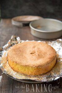 3 Ingredient Sponge Cake - Biskvit