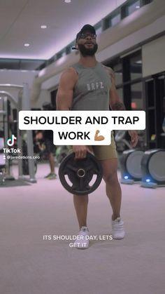 Shoulder Traps, Shoulder Day, Chicken Rice Bake, Bigger Arms, Shoulder Workout, Tabata, Kettlebell, Sporty, Gym