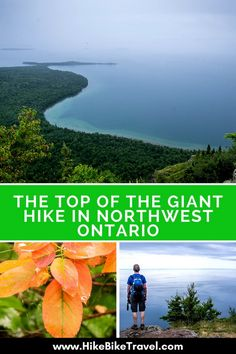 The Top of the Giant Hike in Northwest Ontario - Hike Bike Travel Hiking Places, Go Hiking, Hiking Trails, Hiking Supplies, Ontario Parks, Discover Canada, Ontario Travel, Hiking With Kids, Day Hike