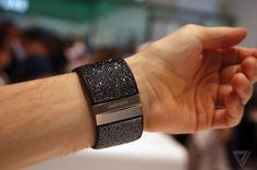 """Samsung Gear S - 'Swarovski' edition """"Bling"""" bands (pic 1 of 4) scream of opulence..."""