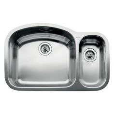 Blanco 440246 Wave 1 12 Bowl Undermount Sink Satin Polished Finish ** BEST VALUE BUY on Amazon  #HomeToolsonSALE